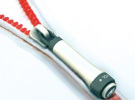 nezamotavajúce sa slúchatká YI zip earphones ji woong detail
