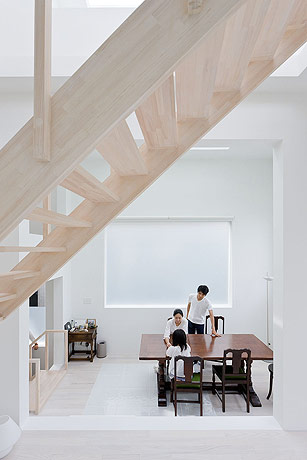 sou fujimoto house h dining room