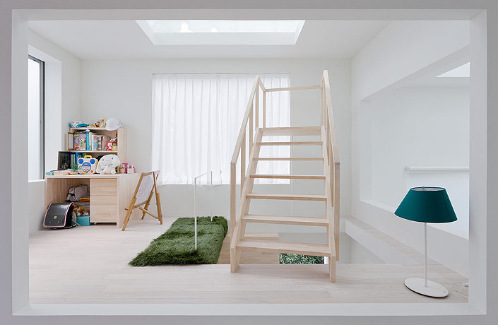 sou fujimoto house h kids room