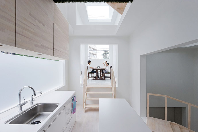 sou fujimoto house h kitchen