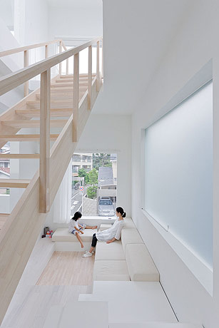 sou fujimoto house h living room