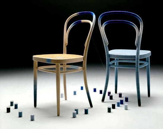 Keisuke Fujiwara Spool 214 thonet chair nitky