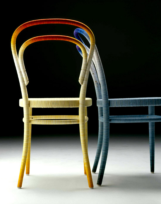Keisuke Fujiwara Spool 214 thonet chair zadna cast