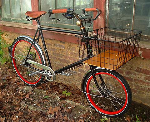 ant basket bike obrovsky droteny kos na bicykel