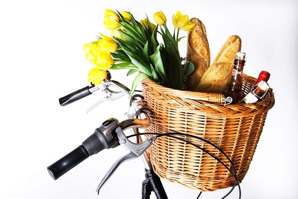 basil dundee basket ratanovy kos na bicykel