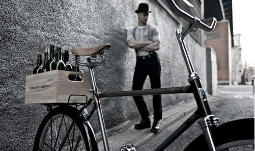 bowery lane bikes crate plna drevena bednicka predavana priamo s bicyklom