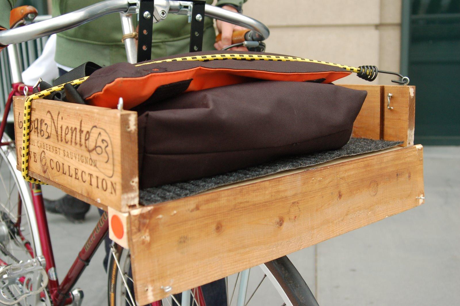 cabernet sauvignon bike crate