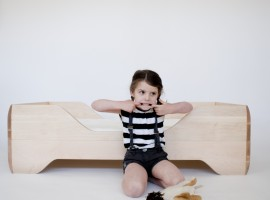 Kalon Echo Toddler Bed detska drevena postel