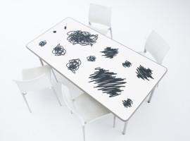 YOY - Scribble - podlozky pod taniere v tvare cmaranic