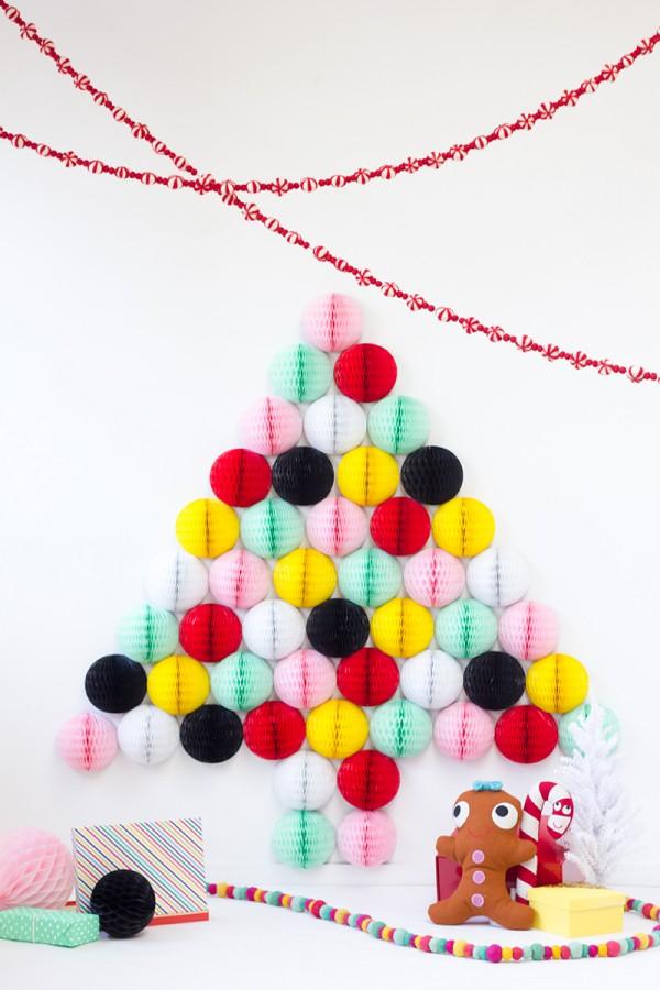 12 studiodiy.com honeycomb pestrofarebny stromcek papierovy