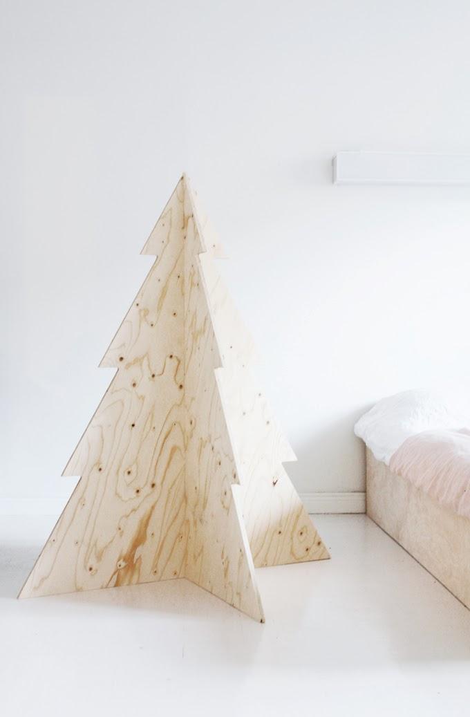 16 pikkuvarpunen.blogspot.com plywood tree preklizka stromek