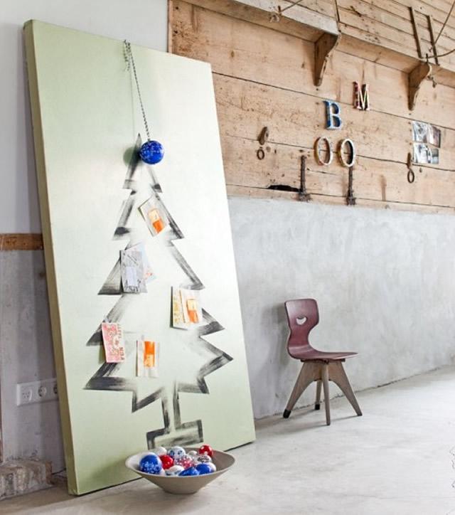 60 stromcek namalovany na platne