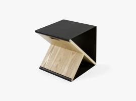 noon studio steel stool variabilny stolcek stolik